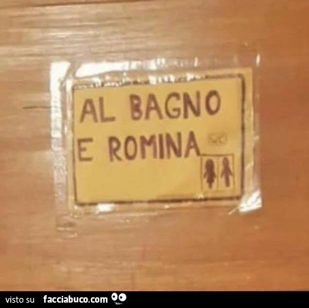Al bagno e romina - Inculata al bagno ...