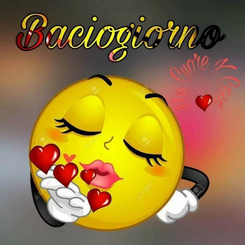 Il bacio del buon giorno chiacchiera pubblicata da for Immagini divertenti buon giorno