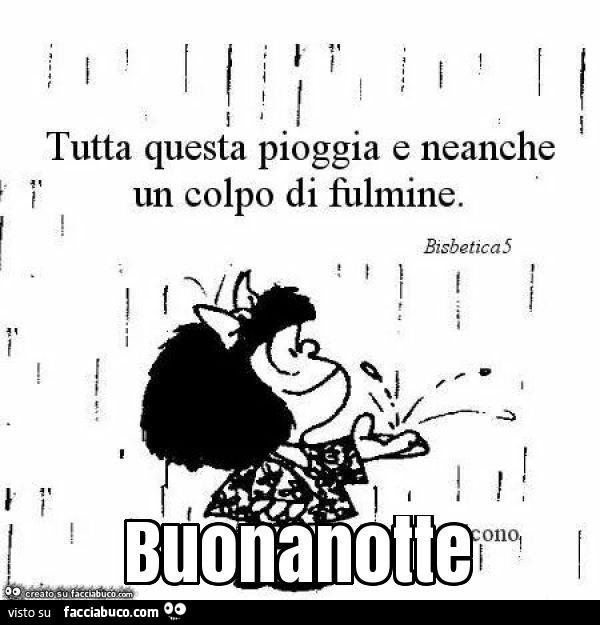 Buonanotte Con Mafalda Gif Powermall