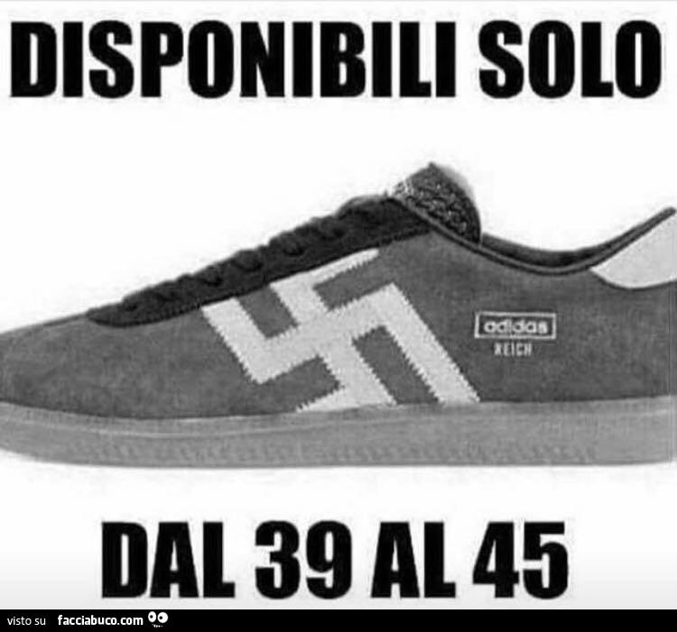 La Con Adidas Solo Tqpvvza Svastica 45 Disponibili 39 Dal Scarpa 5rnr8zqx0w