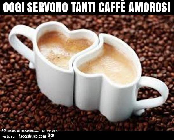 Tazzine A Forma Di Cuore Oggi Servono Tanti Caffè Amorosi